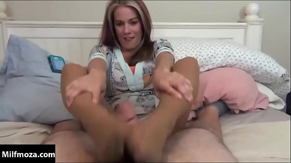 Mom Gives Son Footjob While On Phone With Dad Milfmoza.com