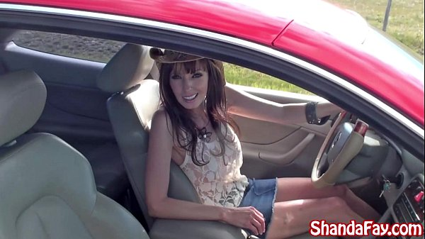 Kinky Canadian Milf Shanda Fay Blows Hitch Hiker Outside