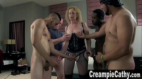 5 Massive Creampies For MILF