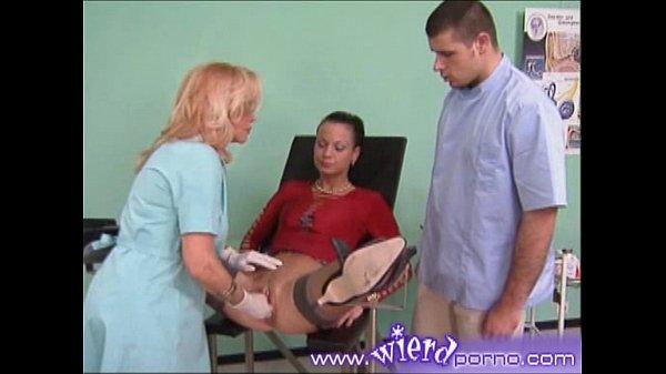 Видео у гинеколога в кресле частное