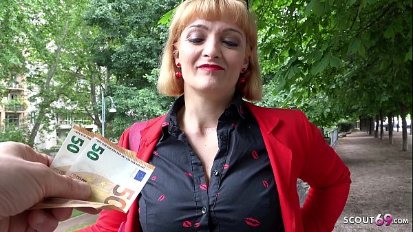 GERMAN SCOUT - BIG TIT MILF MARY FUCK AT REAL S...