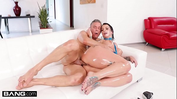 BANG Surprise - Ivy Lebelle Gets Her Ass Oiled And Fucked