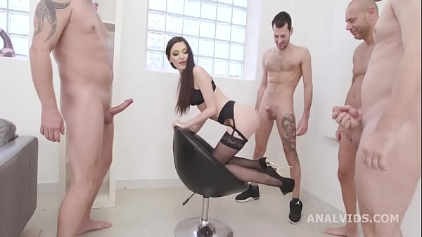 Lina Arian is Back with Balls Deep Anal, DAP, Gapes, DP, TP, Swallow and Creampie GIO1709