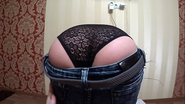 Juicy booty doggy style and anal masturbation. Brunette with a big dildo fucks her asshole and excites. Homemade fetish. Thumb
