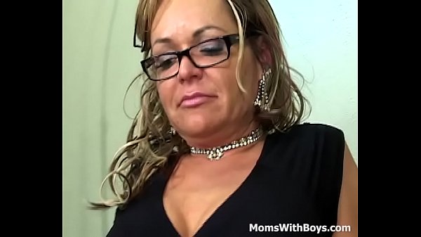 Mama Releases Tension Fucking A Young Cock