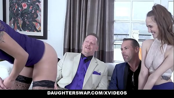DaughterSwap - Hot Slutty Daughters (Samantha Hayes) (Sophia Grace) Get FUcked By Their Father Thumb