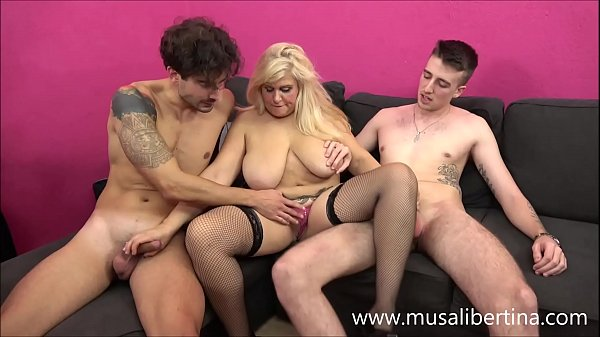 Porn Casting - Threesome with 2 young candidates by Musa Libertina
