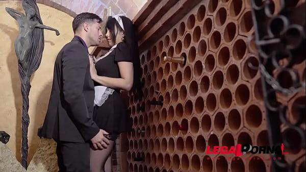 Maid Katrina Moreno's giant tits and big ass make husband cheat on his wife GP762