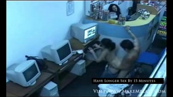 Teen Couple Fucking In Cyber Cafe