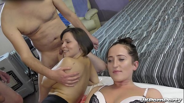 Lusty British sluts enjoy a gangbang Thumb