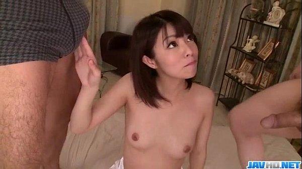 Akina Sakura superb threesome in hardcore scenes