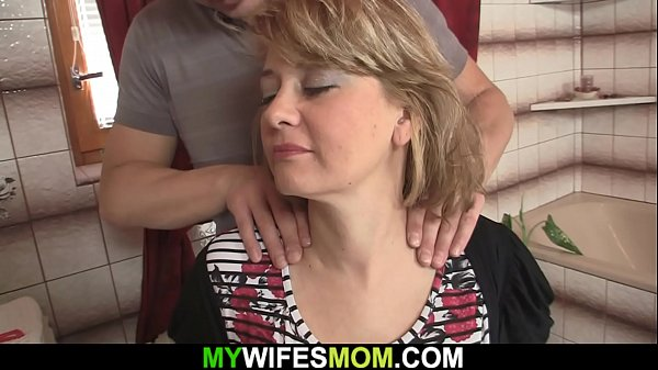 Busty mature mother in law