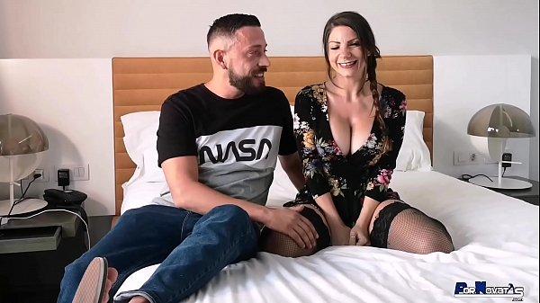 PORNOVATAS.COM TOP MILF ITALIANA LILY VERONI FOLLANDO DURO EN SU PRIMER VIDEO PORNO CON VICTOR BLOOM. PORNO REAL, PORNO ESPAÑOL