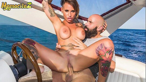 MAMACITAZ - #Gina Snake - Rich Daddy Fucks A Super Hot Spanish MILF On His Yacht Thumb
