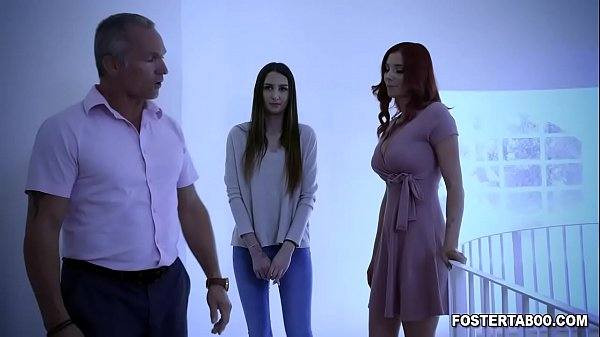 Good girl Natalia Nix gets good pussy fucking from her new foster parents