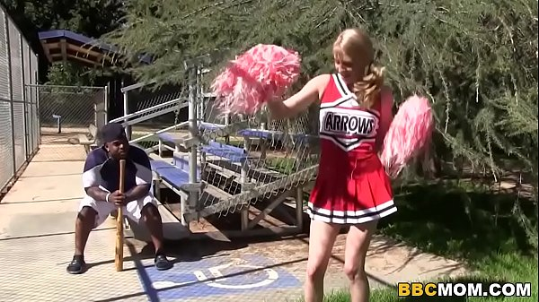 Cheerleader Allie James and Erica Lauren Treat BBC.