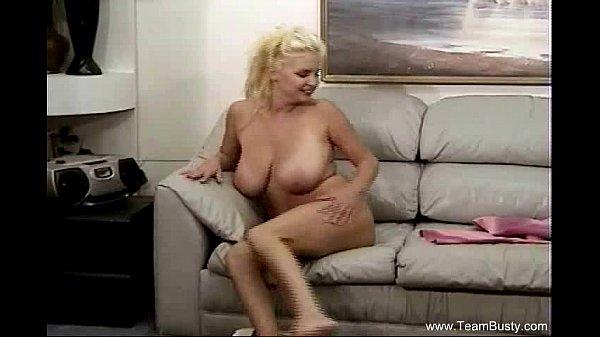 Big Naturals On Busty Blonde MILF