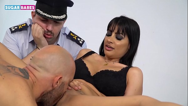 SUGARBABESTV: Greek Police officers crazy sex
