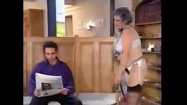 Реальное домашнее порно внука и его бабушки