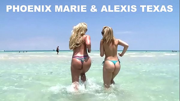 Alexis Texas and Phoenix Marie Go To The Beach, And Then Fuck! (ap8307