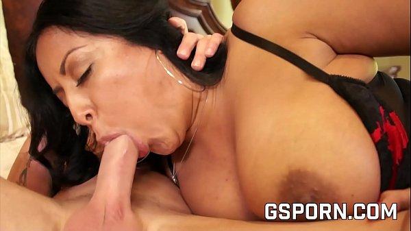 Busty Latina Milf Fucking At Home
