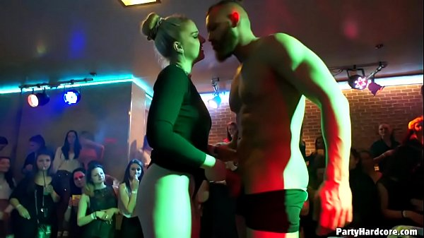Amateur whore Nikča from previous party returns as a pro to let another 3 strippers nail her cunt in PHGC 34 Thumb