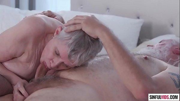 Granny and Grandpa Bonnie Nilsen and Joel Kann - Guide to Wicked Sex: Senior Sex Scene 1 Thumb