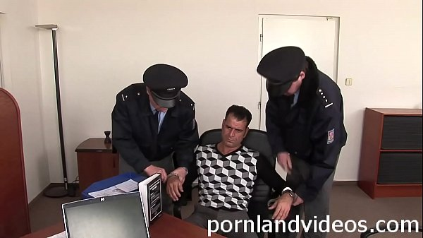 slutty policewoman punish big cock in her office Thumb