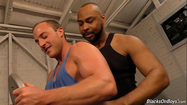 Black muscle gay guys