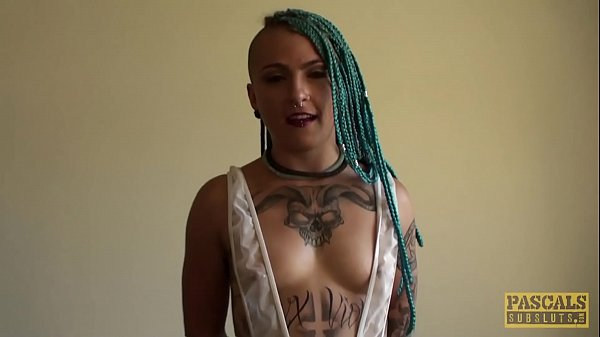 Inked subslut Orion Starr tormented before intense hammering