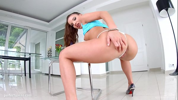 Gonzo anal scene with Anita Bellini by Ass Traffic Thumb