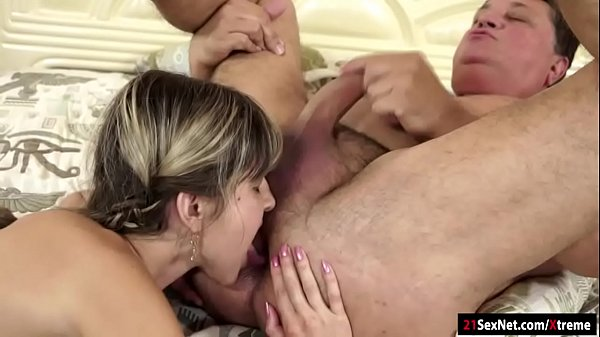 Gina Gerson blows licked asslicks and gets fucked by old guy Thumb