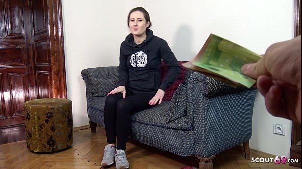 GERMAN SCOUT - REAL COLLEGE GIRL LARA FOX SEDUCE TO FUCK AT PICKUP MODEL CASTING Thumb