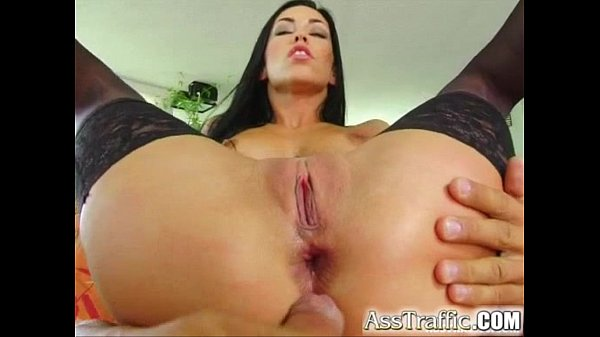 Ass Traffic Exotic beauty opens her backdoor to...