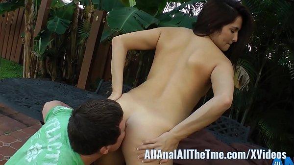 Stella May: Hot Latina Stella May Gets Ass Eaten Outside For AllAnal!