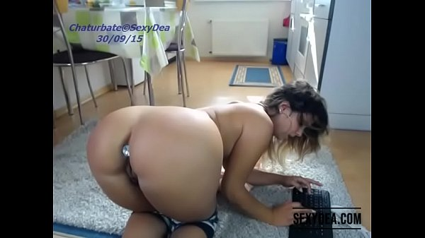 Amazing perfect big ass analplug twerk in webcam chat room sexydea Thumb