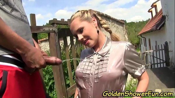 Fetish sluts bush pissed
