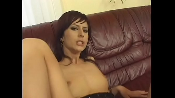 Horny lesbians Liana and Esmeralda play each other's wet holes with double dildo