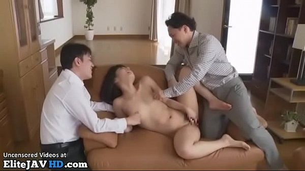 Japanese wife cuckold rough sex