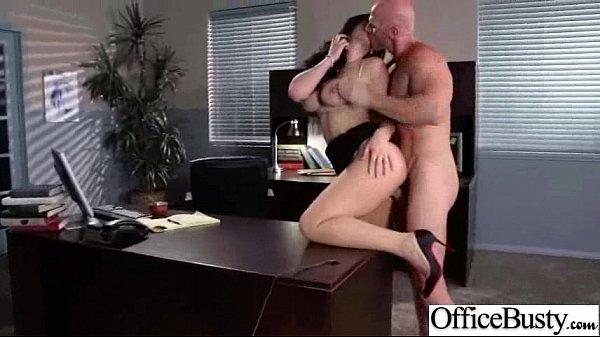 Busty Horny Girl (jayden jaymes) Get Hard Style Sex In Office vid-15