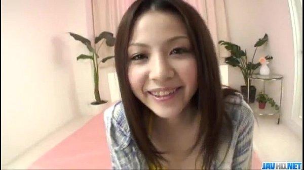 Rika Koizumi perky tits babe sucks cock and fuc...