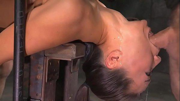Extreme Deepthroat Bondage Fuck - more videos at sex-cams.xyz