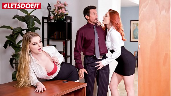 LETSDOEIT - Shows Us What You Got Boss! Nobody Will Know (Bunny Colby & Lacy Lennon) Thumb