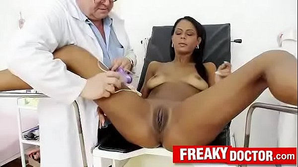 Doctor patient porn with hot latina Isabella Chrystin