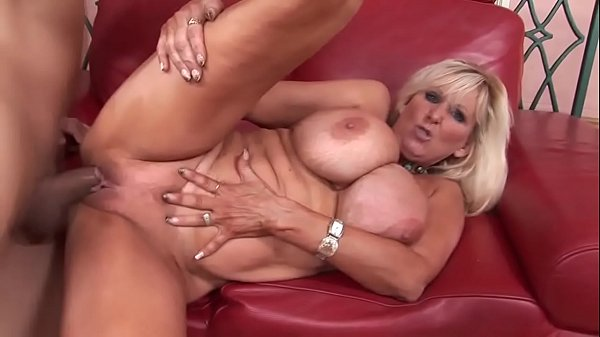 Super busty fucks her stepson's friend