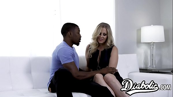 Cougar Julia Ann stretched with interracial banging Thumb