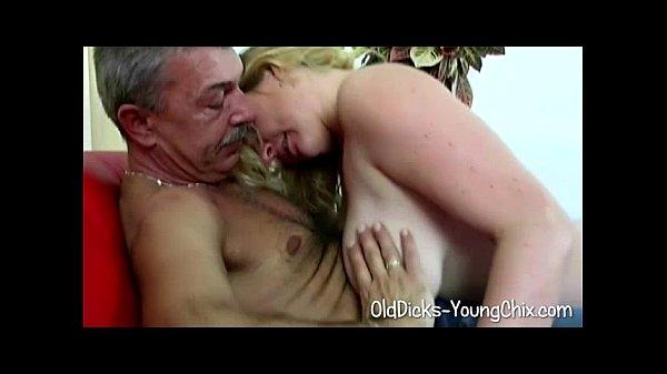 blonde pleases old pervert