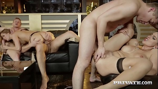 Private.com - Alexis Crystal Banged Anally in Orgy w GF! Thumb