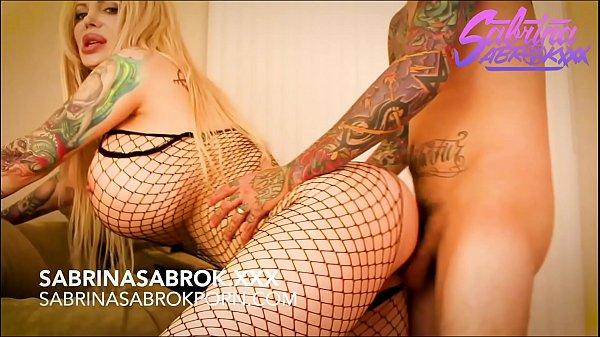 Sabrina Sabrok big tits blonde with huge booty  analled Thumb
