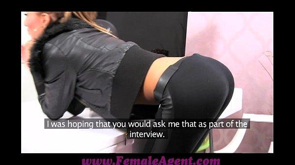 FemaleAgent Casting creampie for teasing agent Thumb